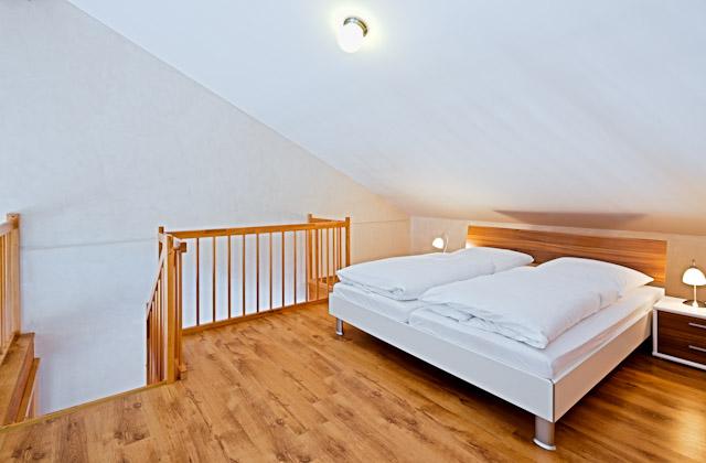Appartement Schlafboden