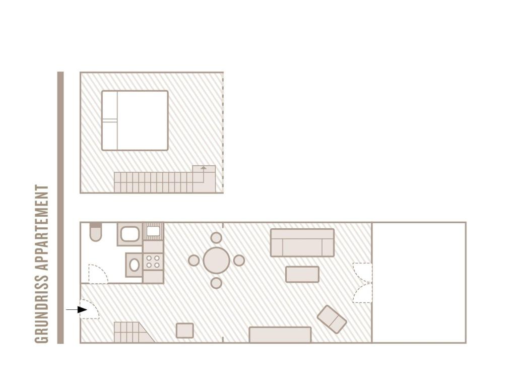 Appartement Grundriss